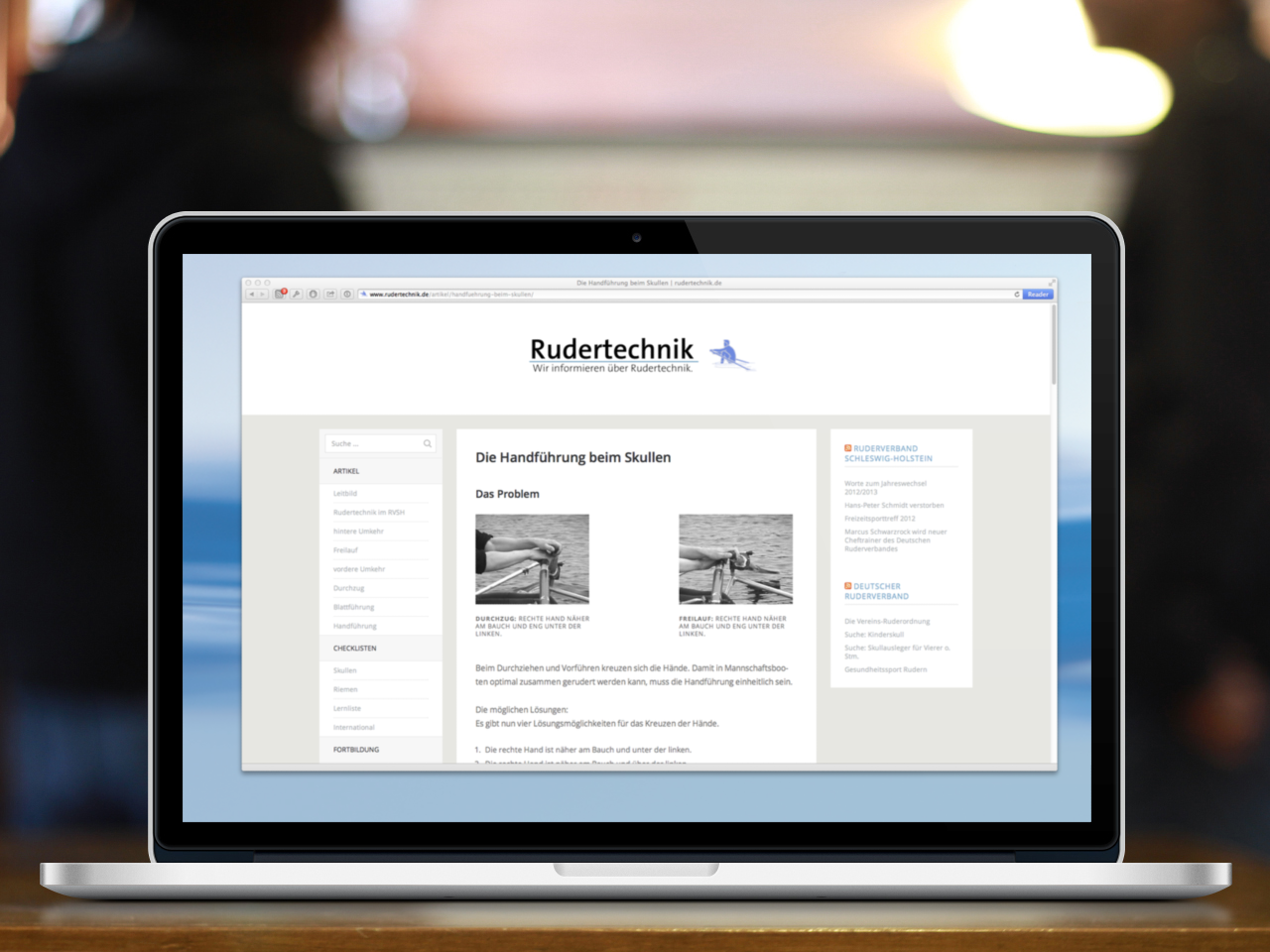 Relaunch rudertechnik.de